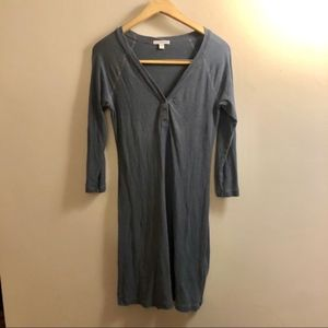 Standard James Perse Tee Dress-Size 2